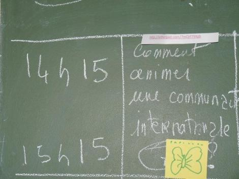 """Comment animer une communauté internationale?"" Photo: WiserEarth/Flickr"