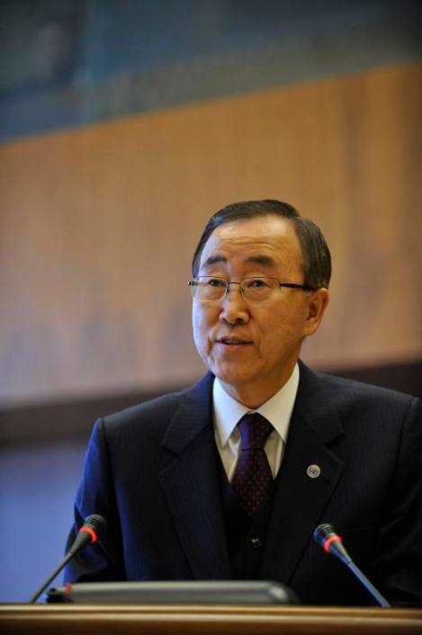 UN Secretary General Ban Ki-Moon. Photo: United Nations Information Service/Flickr