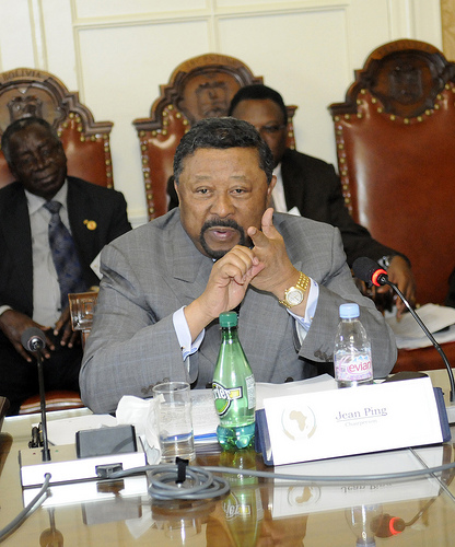 Chairperson of the African Union Jean Ping